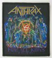 Anthrax Woven Patch