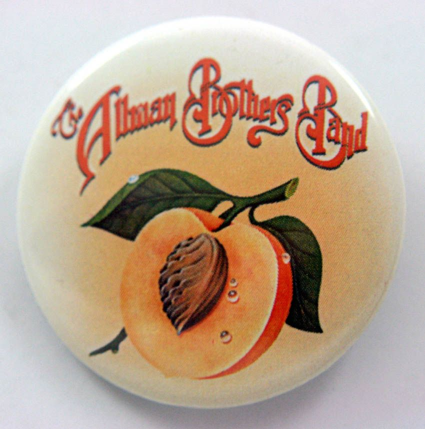 The Allman Brothers Band 38mm Button Badge