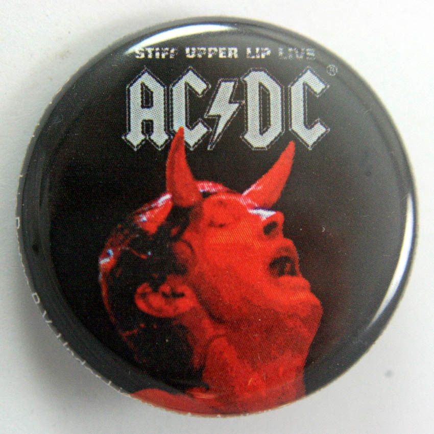 AC/DC 38mm Button Badge