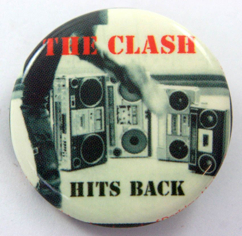 The Clash 38mm Button Badge