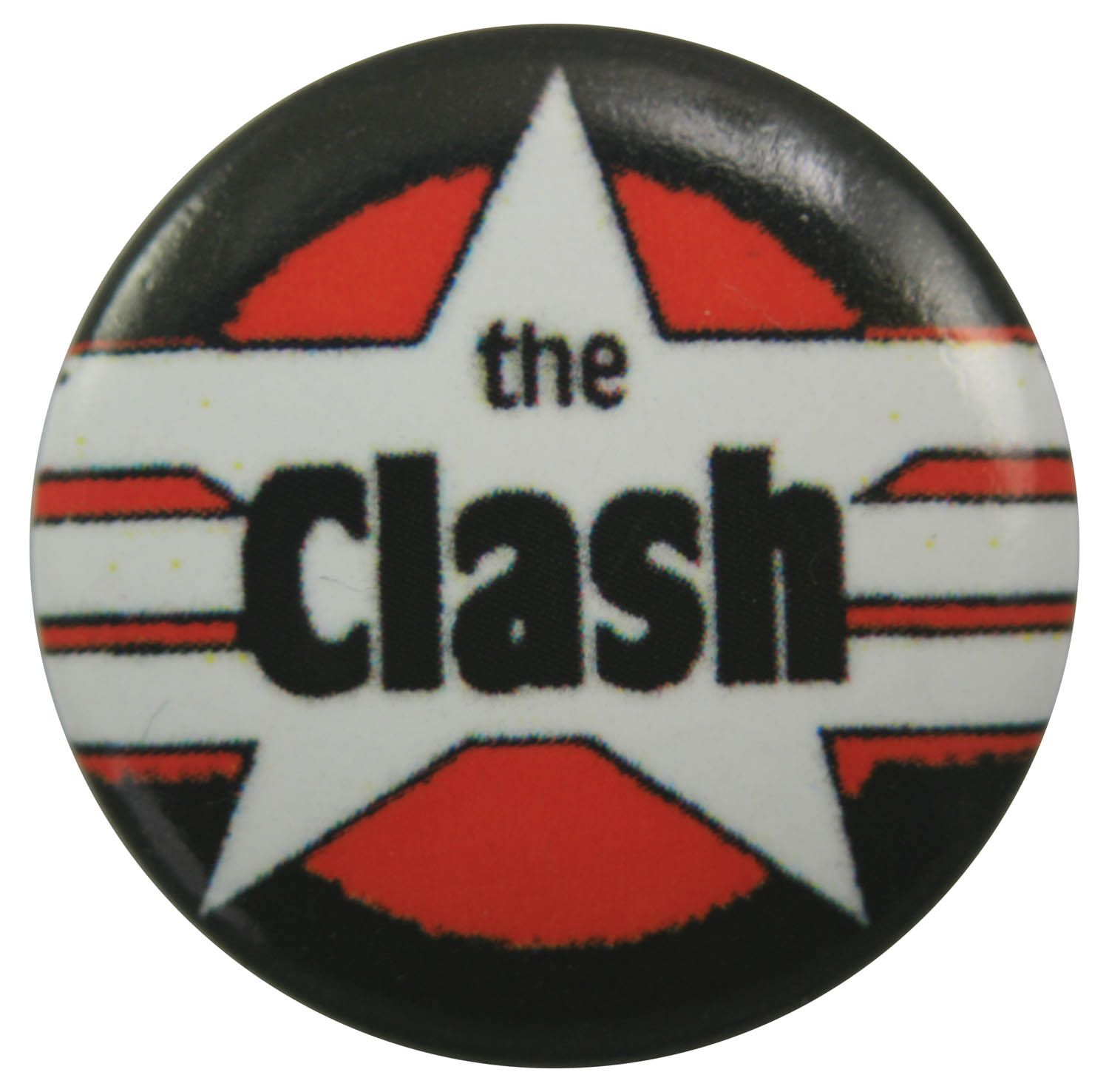 The Clash Button Badge