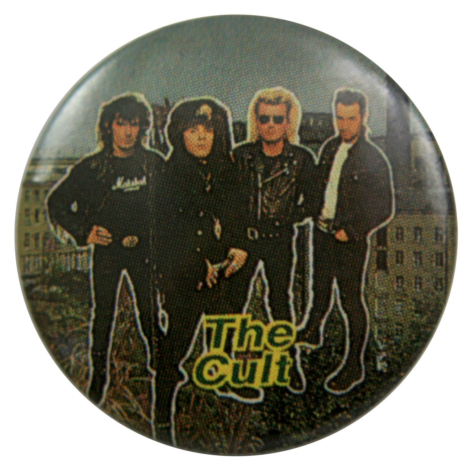 The Cult Button Badge