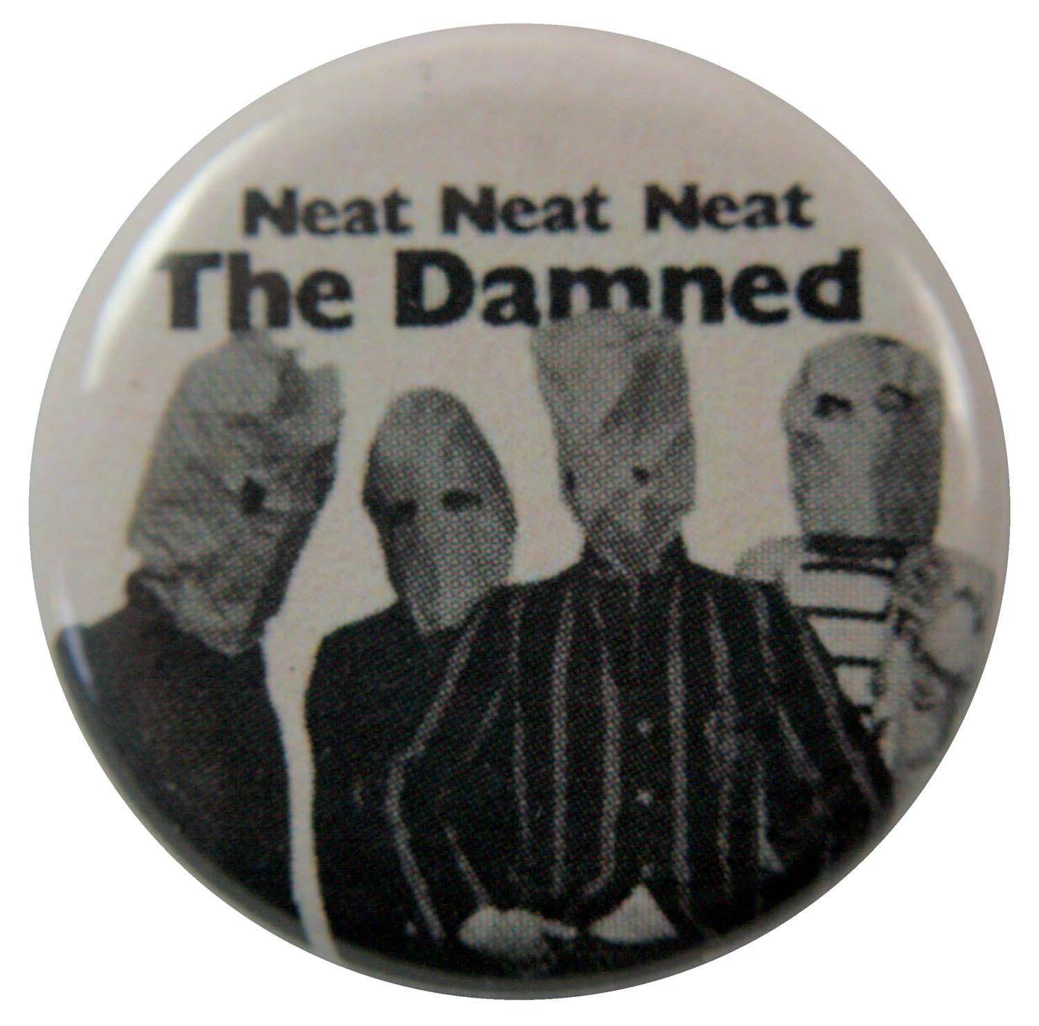 The Damned Button Badge