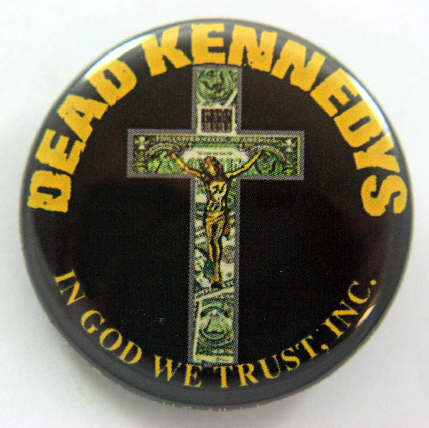 Dead Kennedys 38mm Button Badge