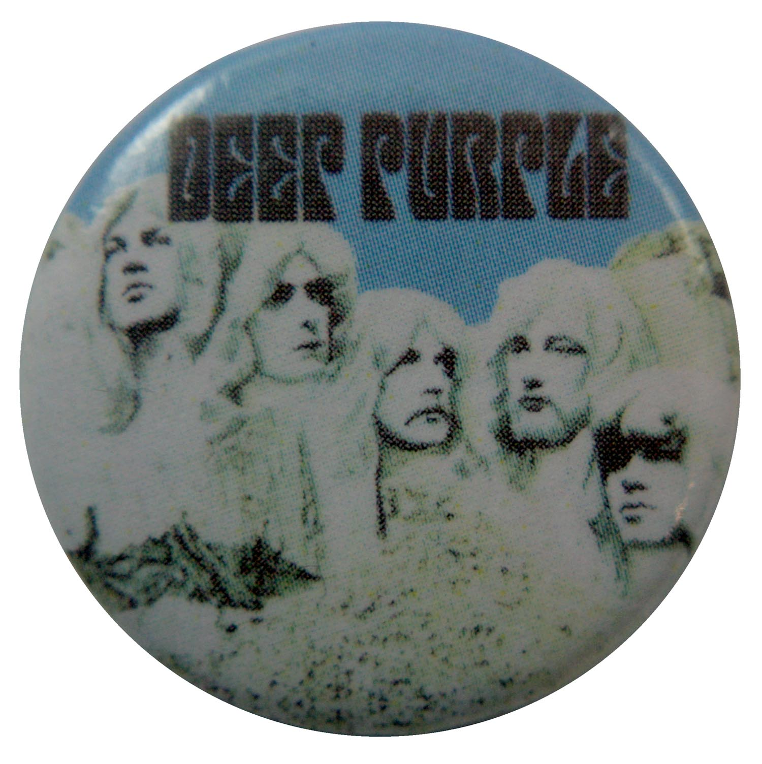 Deep Purple Button Badge