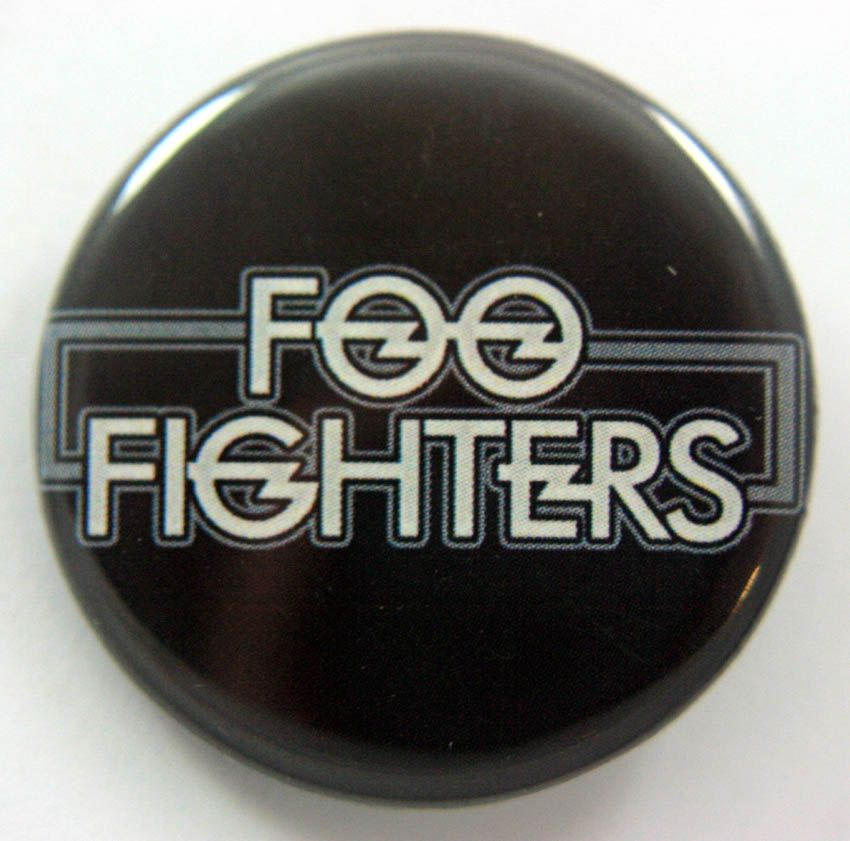 Foo Fighters 38mm Button Badge