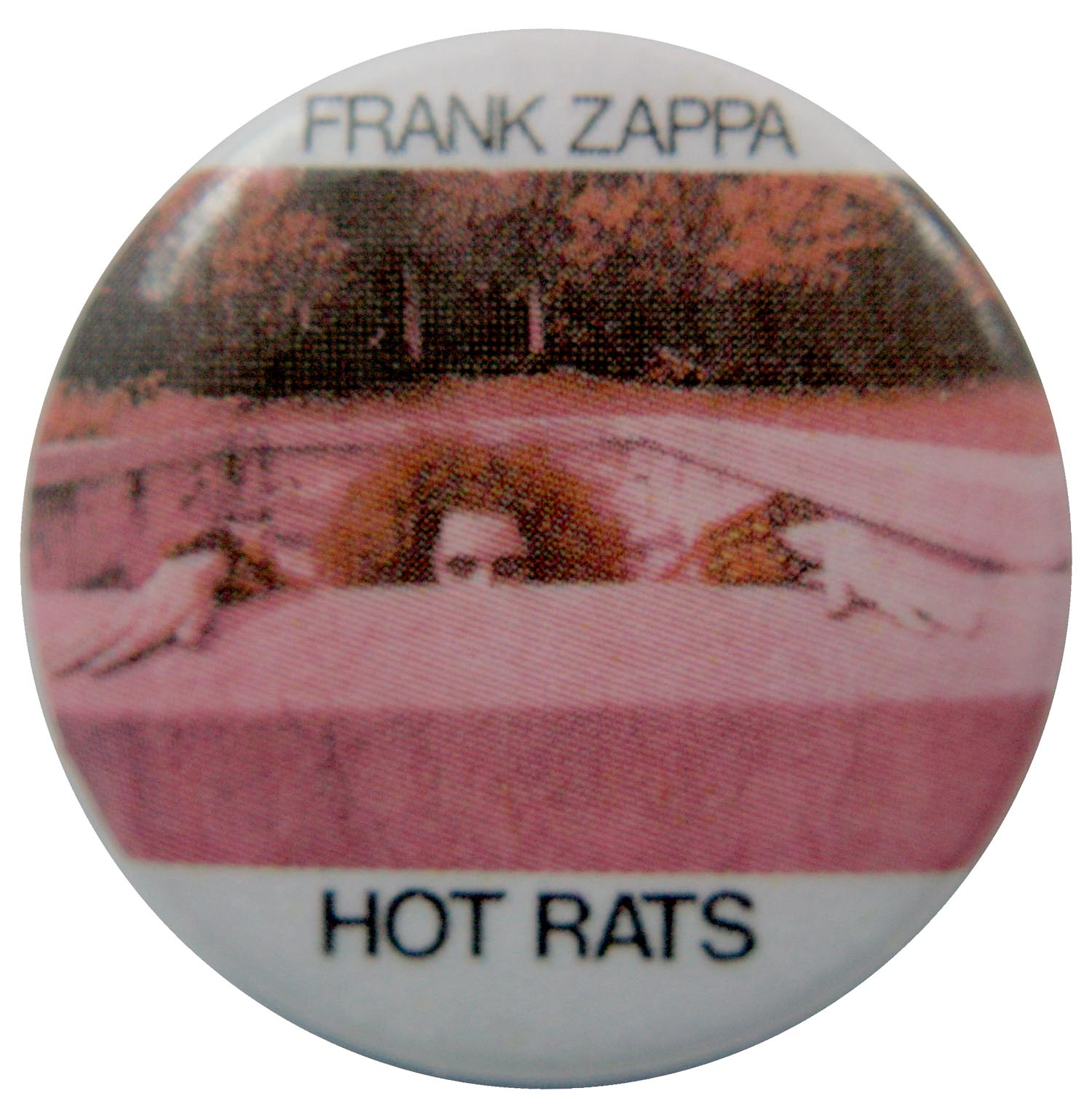 Frank Zappa Button Badge