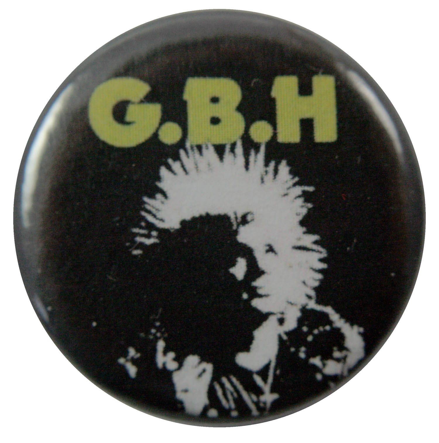 G.B.H. Button Badge
