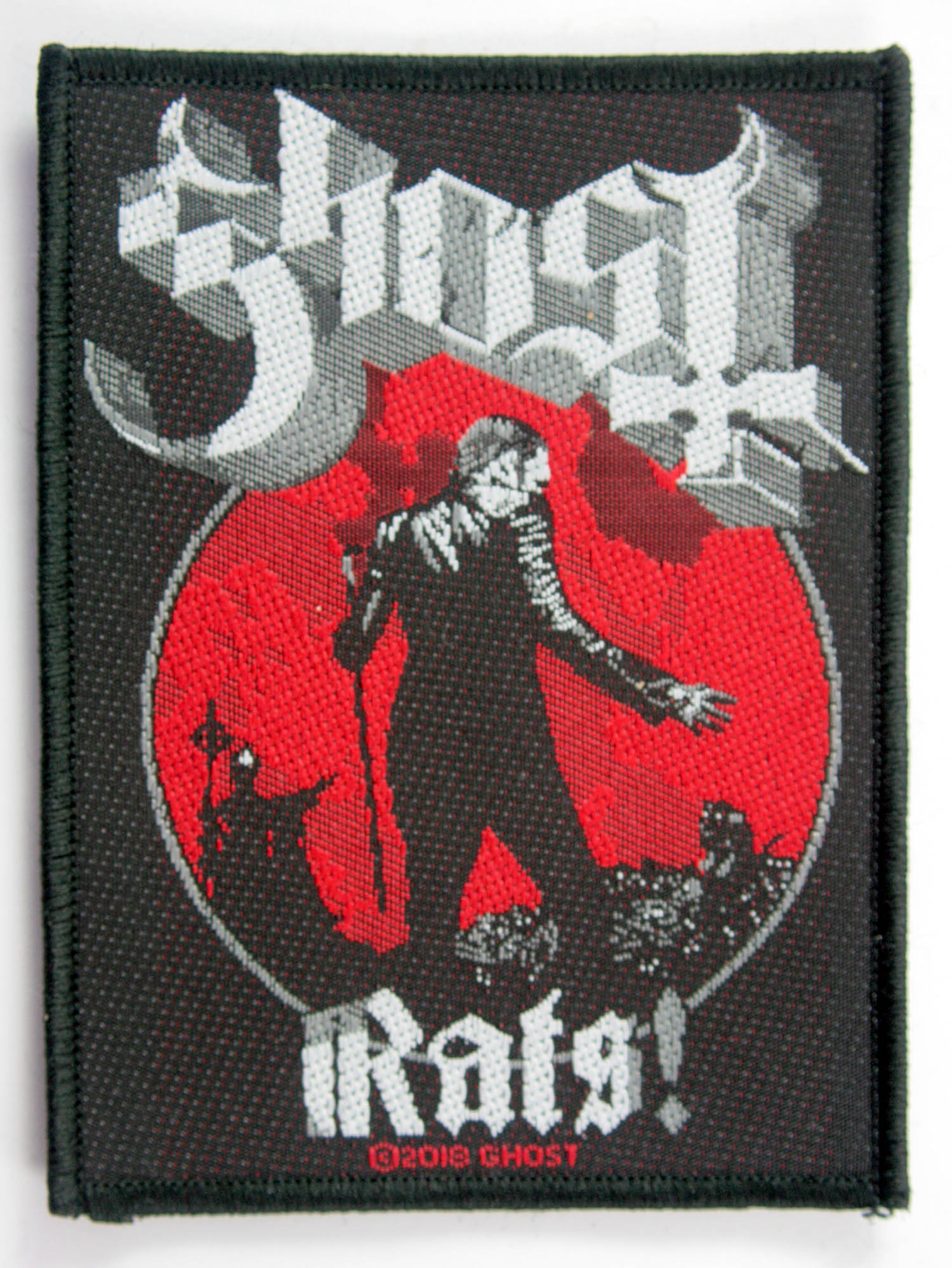 Ghost Woven Patch