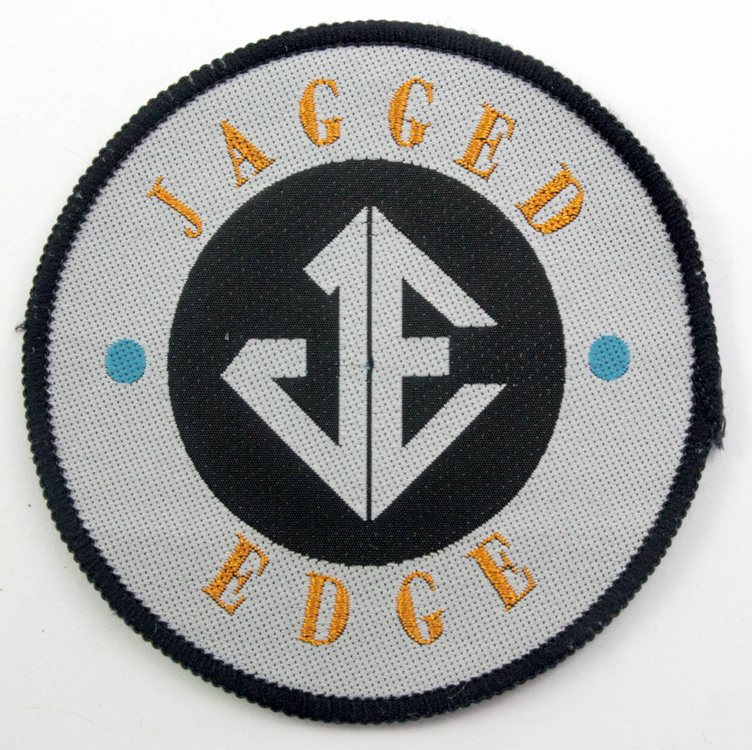 Jagged Egde Woven Patch