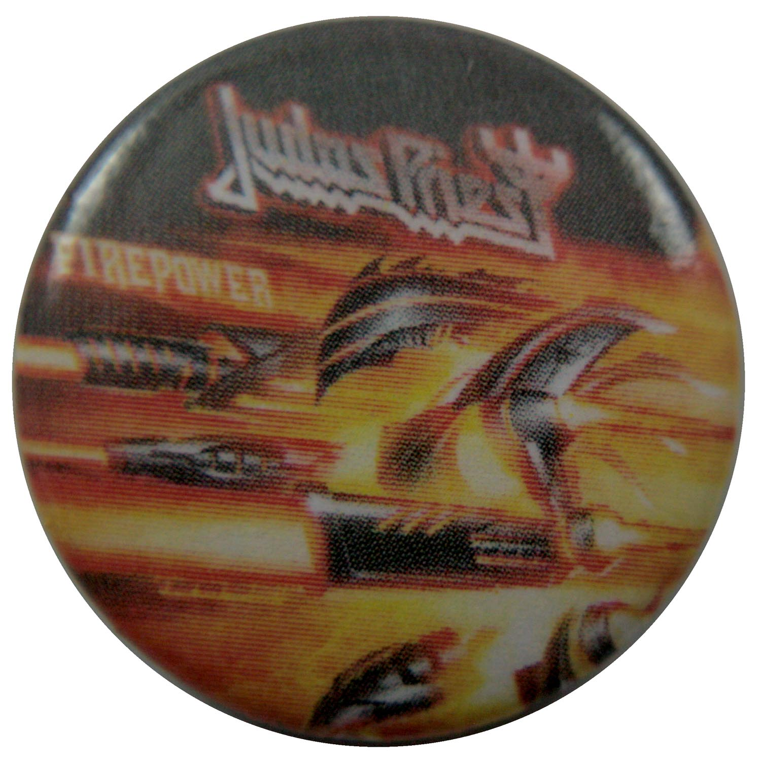 Judas Priest Button Badge
