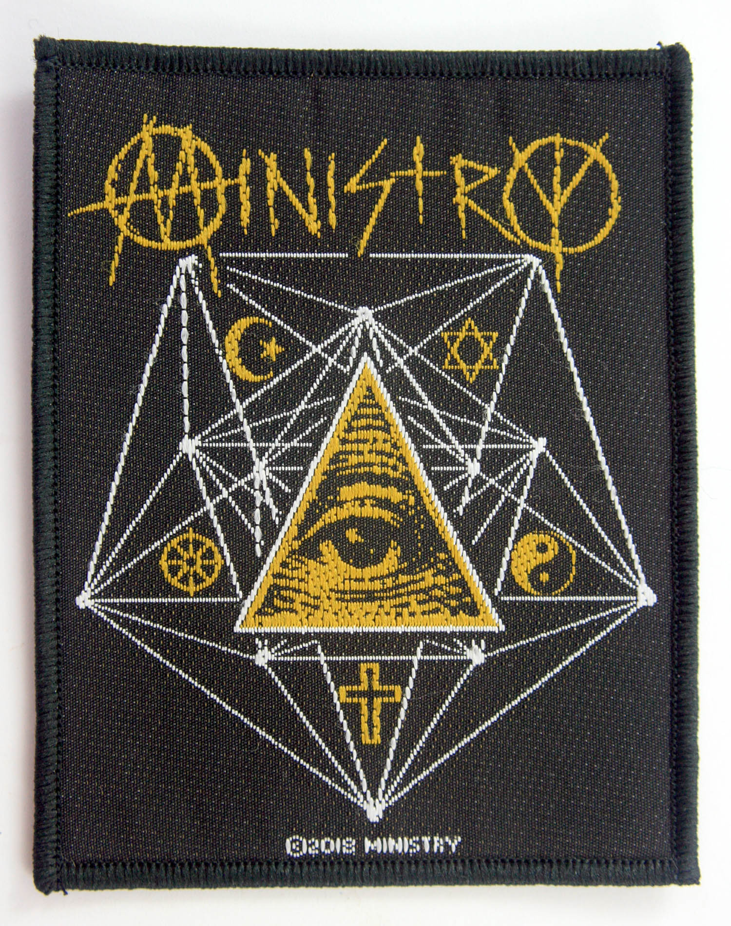 Ministry Woven Patch
