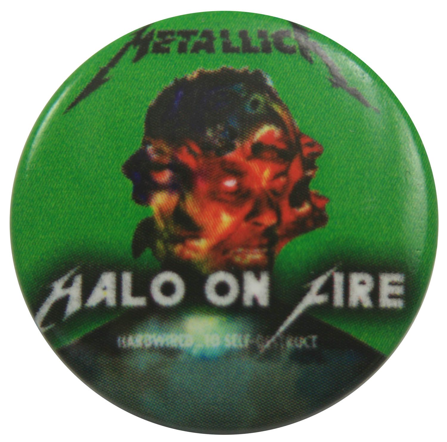 Metallica Button Badge