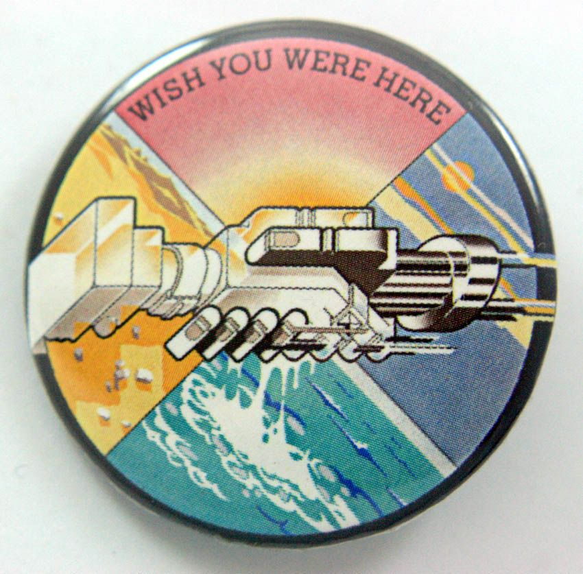 Pink Floyd 38mm Button Badge