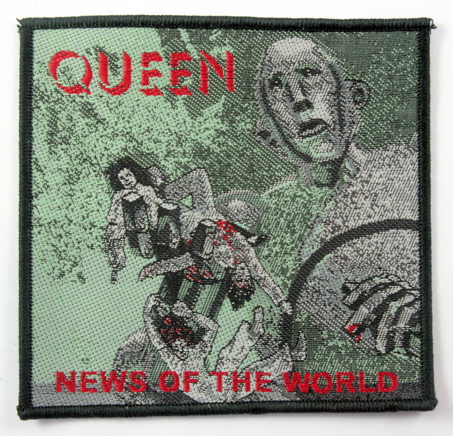 Queen Woven Patch