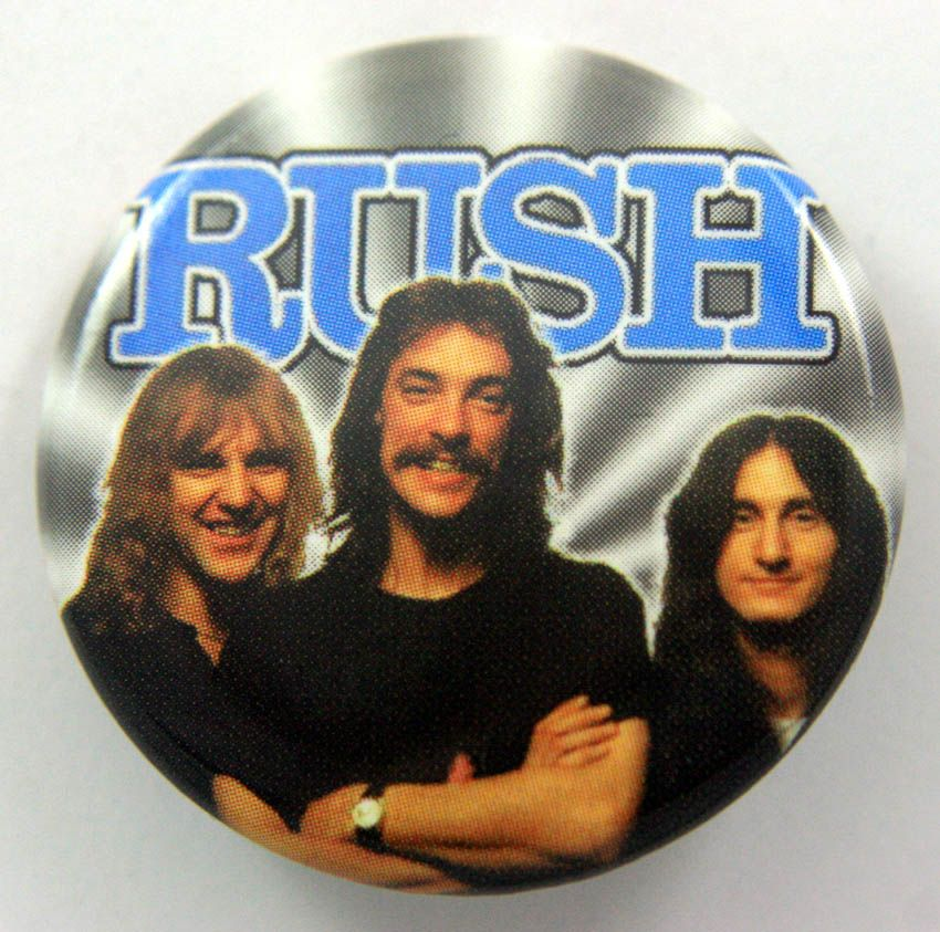 RUSH 38mm Button Badge