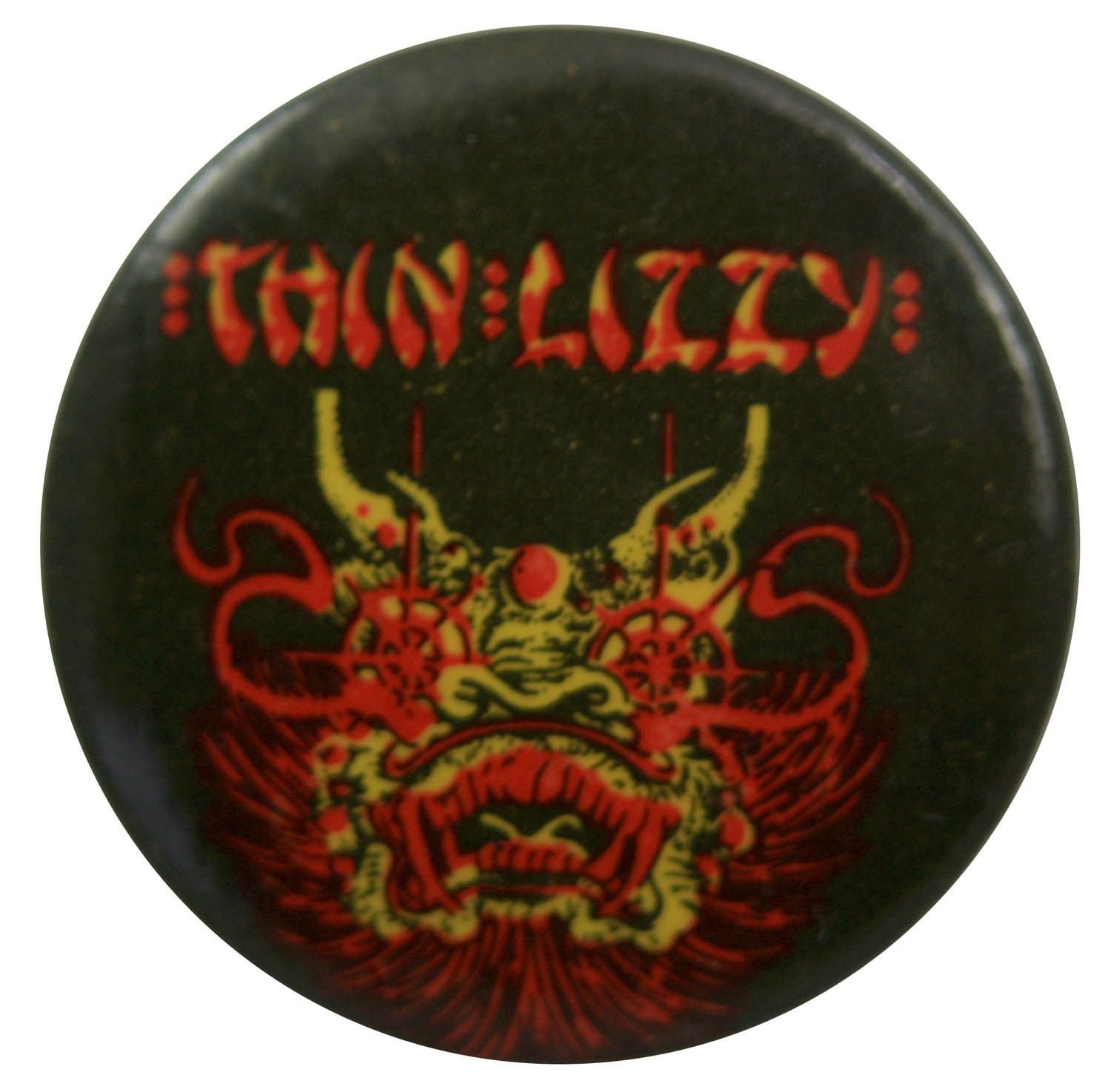 Thin Lizzy Button Badge